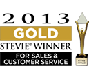 2013 Gold Winner for Customer Care